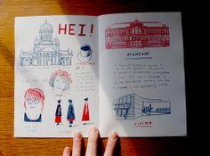 Lizzystewart — A trip to Helsinki