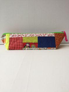 DPN Crochet Hooks Notions Pencil Pouch Bag Zipper Prototype SALE by LowlandOriginals on Etsy