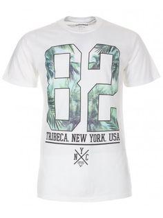 Twisted Soul White Tribeca Print T-Shirt, £12.99
