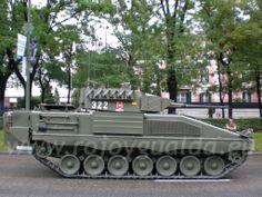 Pizarro Infantry Fighting Vehicle, Ejército de Tierra, Spain #rojoygualda