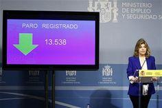"""RADIO CORAZÓN VALENCIA  """"NOTICIAS"""": EL PARO EN ESPAÑA BAJA EN 13.538 PERSONAS EN FEBRE..."""