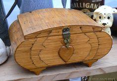 Matchstick Folk Art box