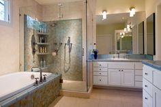 Bungalow design by Cravotta Interiors - Master bath