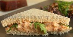 2Mandarinas en mi cocina: Sandwich de alioli de membrillo con rúcula. Concurso Santa Teresa