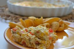 Southwest Corn Dip. Ready in under 20 minutes.  Perfect for Cinco de Mayo!
