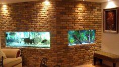 cool wall fish tank