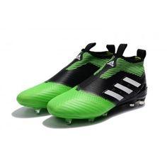 low priced a60ba 2d46e Kaufen Sie 2017 Adidas ACE 17 PureControl Schwarz Grün Weiß Fußballschuhe -  mo waleed -