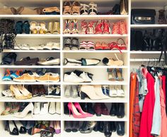 """[If my shoes could talk they would say...] """"Learn how to walk, girl."""" Leandra Medine for The Coveteur"""