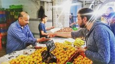 #TunisiaChallenge in #Bizerte  But first off to the market!