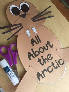 Arctic Animals writing craft--great way to work in non-fiction, writing, and some science! Arctic Habitat, Artic Animals, Animal Habitats, Animals And Their Habitats, Animal Crafts, Polar Animals Preschool Crafts, Preschool Art, Winter Fun, Crafts For Kids