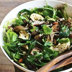 Herfstsalade met courgette Dutch Recipes, Raw Food Recipes, Salad Recipes, Vegetarian Recipes, Healthy Recipes, Delicious Recipes, Easy Diner, Clean Eating, Healthy Eating