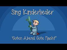 Guten Abend, gute Nacht - Schlaflieder zum Mitsingen | Sing Kinderlieder - YouTube