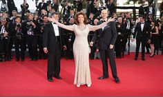 Sophia Loren brilló en Cannes