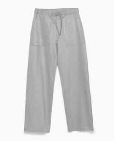 ZARA - WOMAN - HAREM TROUSERS Harem Trousers, Zara Women, Pajamas, Pajama Pants, Woman, Style, Image, Fashion, Pjs
