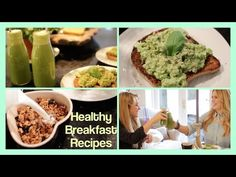Healthy Breakfast Recipes! - http://showatchall.com/craft/healthy-breakfast-recipes/