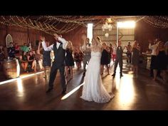"""This Family Unveiled a """"Happy"""" Surprise for their Wedding Guests - YouTube"""