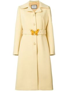 Gucci Women Coat on YOOX. The best online selection of Coats Gucci. Gucci Coat, Coats For Women, Clothes For Women, Blazers, Collar Designs, Coat Dress, Vintage Dresses, Luxury Fashion, Fashion Outfits