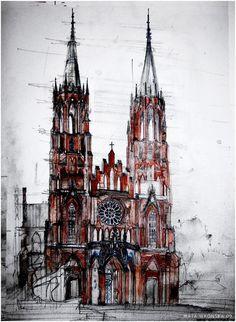 Architectural Sketches - Maja Wrońska