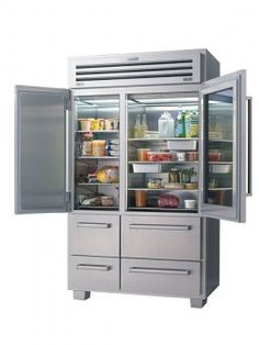 French door refrigerators 10 models from high to low refrigerator sub zero pro 48 with glass doors planetlyrics Image collections