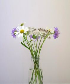 Wildflower Milk Bottle Arrangements