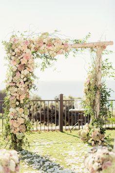 New Garden Wedding Ceremony Ideas Chuppah Ideas Wedding Ceremony Ideas, Wedding Chuppah, Wedding Altars, Ceremony Arch, Rustic Wedding, Wedding Arches, Wedding Reception, Diy Wedding, Birch Wedding
