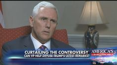 """""""[Donald J. Trump] is absolutely determined to fix the VA and make sure it works for all of those who served."""" – GOP vice presidential nominee Mike Pence"""