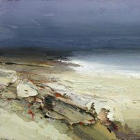 Chris Bushe RSW Late September Sun Lighting up the Sands, Islay Abstract Landscape Painting, Seascape Paintings, Watercolor Landscape, Landscape Art, Landscape Paintings, Abstract Art, Portrait Paintings, Acrylic Paintings, Art Paintings