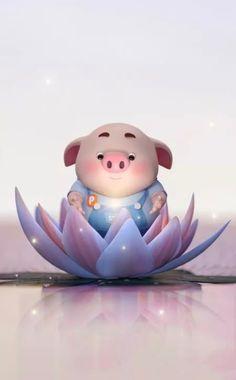 Pig Wallpaper, Wallpaper Backgrounds, Iphone Wallpaper, This Little Piggy, Little Pigs, Kawaii Pig, Cute Piglets, Pig Drawing, Pig Illustration