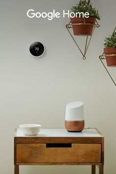 """Control your home with just a few words. """"Ok Google, turn on the coffee maker."""" Hands-free help from the  Google Assistant."""""""