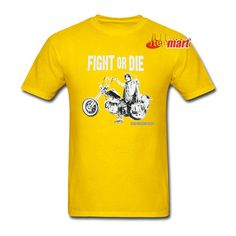 The Walking Dead Motorcycle Daryl Athletic Tee Shirt The Walking Dead Movie, Film Base, Tee Shirts, Tees, People Around The World, Nice Tops, Comic Books, Mens Tops, Logo