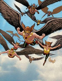 Hawkman & Hawkgirl by Cliff Chiang
