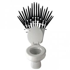 Le sticker de toilettes Game Of Thrones