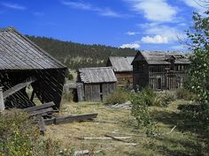 Mining town from the late 1890s, once home to Calamity Jane