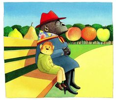 Anthony Brown ILLUSTRATION   Voices in the Park