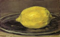 Paul Cezanne, Lemon, 1890
