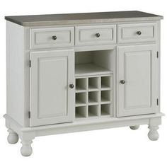 Buffet Servers - Mix and Match Premium Large Buffet with Stainless Steel Top on White Server | KitchenSource.com - $522.28 #kitchensource #pinterest #followerfind