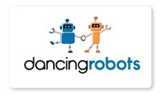 Dancing robots logo