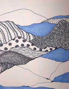 landscape pattern lesson idea