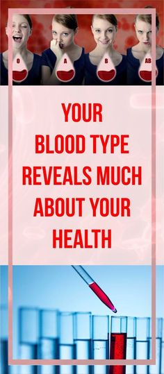Your Blood Type Can Reveal Much About Your Health! #health #wellness #blood #type #stress #interesting #tips