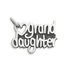 """""""Granddaughter"""" Heart Charm at James Avery"""