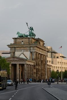 Brandenburg Gate, Berlin...from an unusual angle!