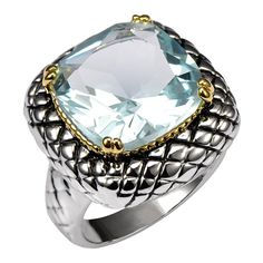 Huge Aquamarine 925 Sterling Silver Ring Factory Price For Women and Men Size 6 7 8 9 10 11 F1516 - Berny's Jewels