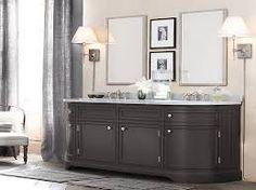 Bathroom Mirror Restoration Hardware vanitory st . james doble con 2 bachas rh baires   baño   pinterest