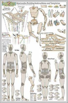 CastIron Carousel Marionette Troupe, Inc. Marionette Puppet, Puppets, Doll Crafts, Diy Doll, Body Kun, Paper Dolls, Art Dolls, Ceramic Sculpture Figurative, Wooden Puppet