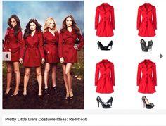 Easiest costume idea: Red Coat Costume