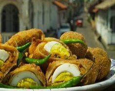 Egg Rolls, Street Food in #SriLanka