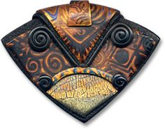 Cynthia Tinapple - I love her polymer clay creations