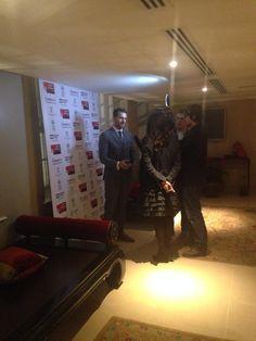 Richard arrives at The Crucible premiere https://twitter.com/dt_plus/status/539844173487431681