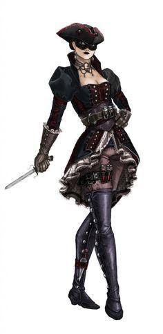 Jeu vidéo : Assassin's Creed 4 / Character : The Puppeteer / http://assassinscreed.wikia.com/wiki/Puppeteer