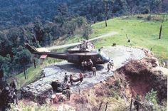 Central Highlands outpost LZ, 1967.